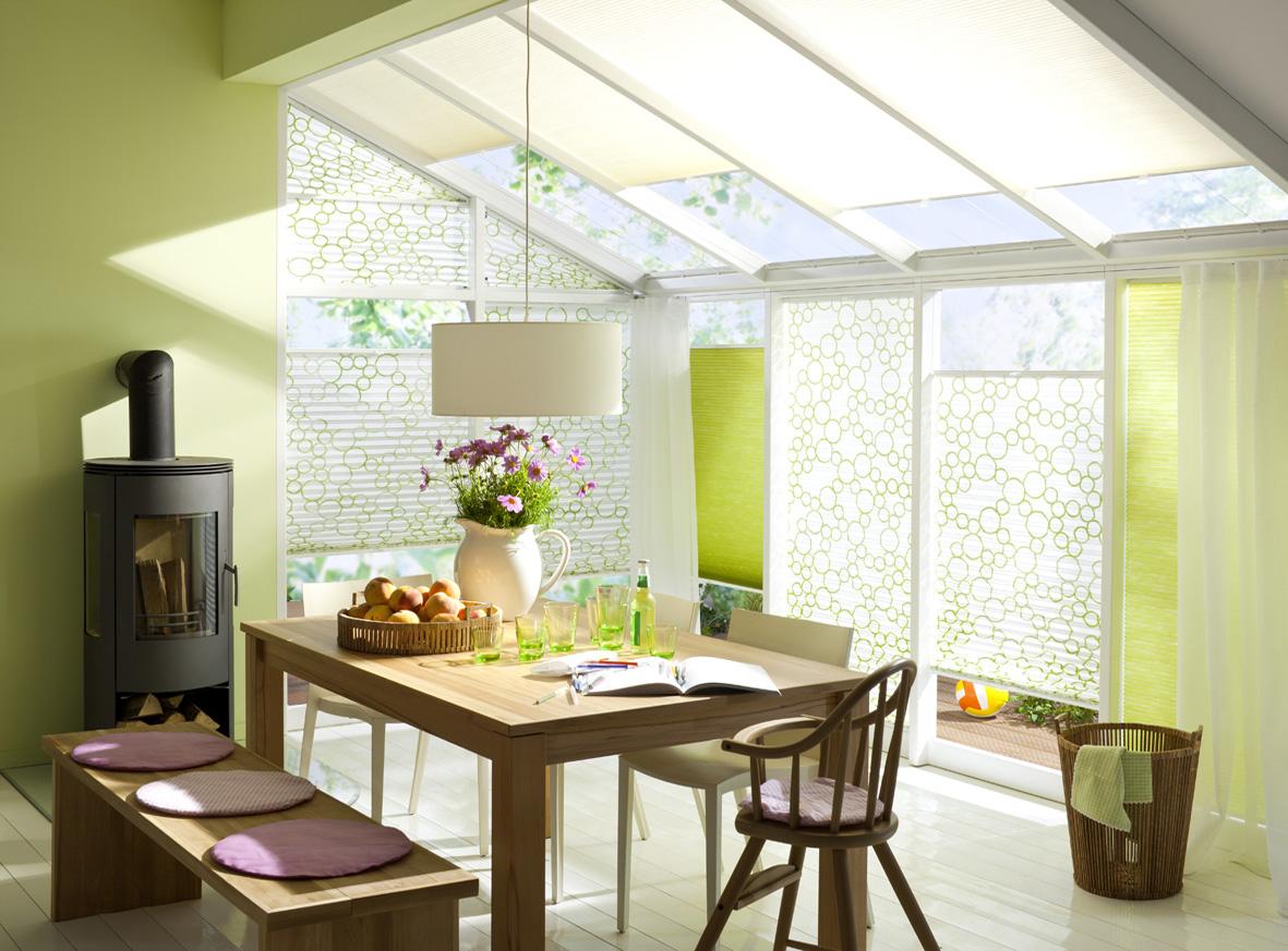 luxaflex plissee faltstore lichtdurchl ssig blickdicht ebay. Black Bedroom Furniture Sets. Home Design Ideas