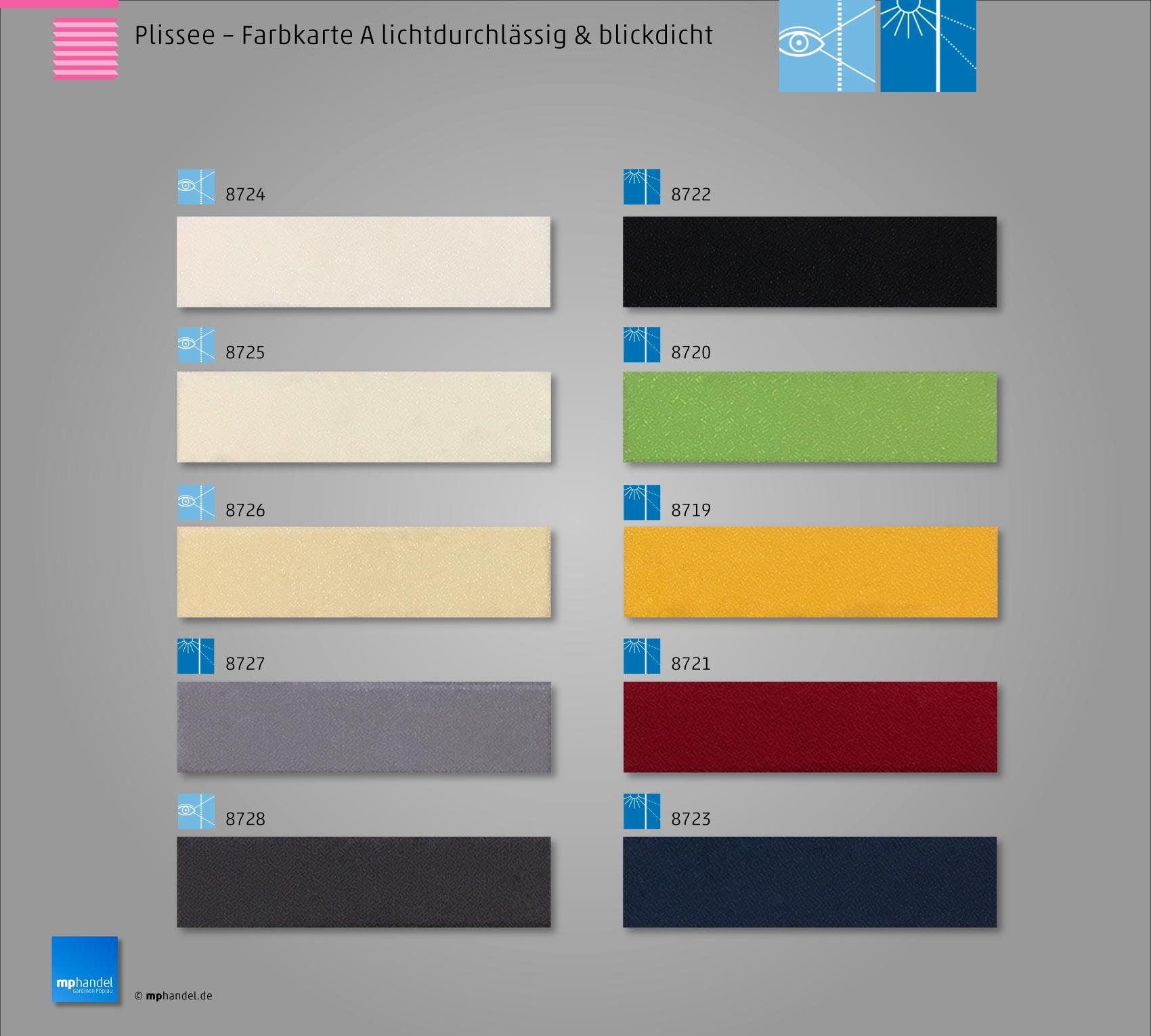 faltrollo plissee faltstore lichtdurchl ssig blickdicht ebay. Black Bedroom Furniture Sets. Home Design Ideas